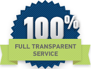 full transparent service icon